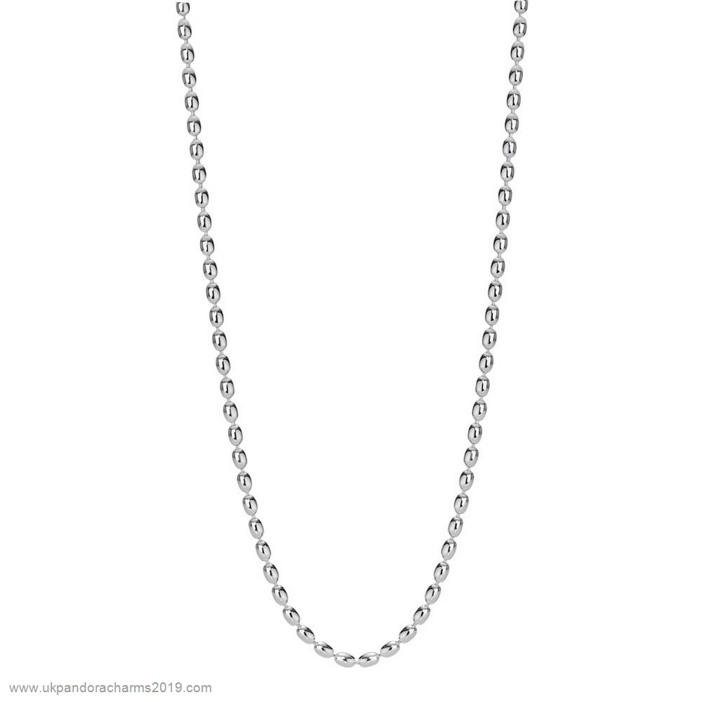Pandora Shop Sale Pandora Chains Sterling Silver Ball Chain Necklace