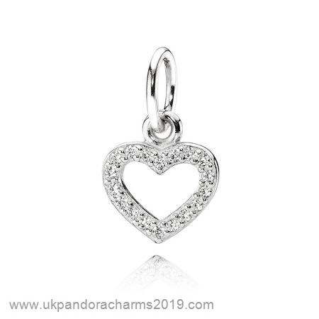 Pandora Shop Sale Pandora Pendants Be My Valentine Pendant Clear Cz