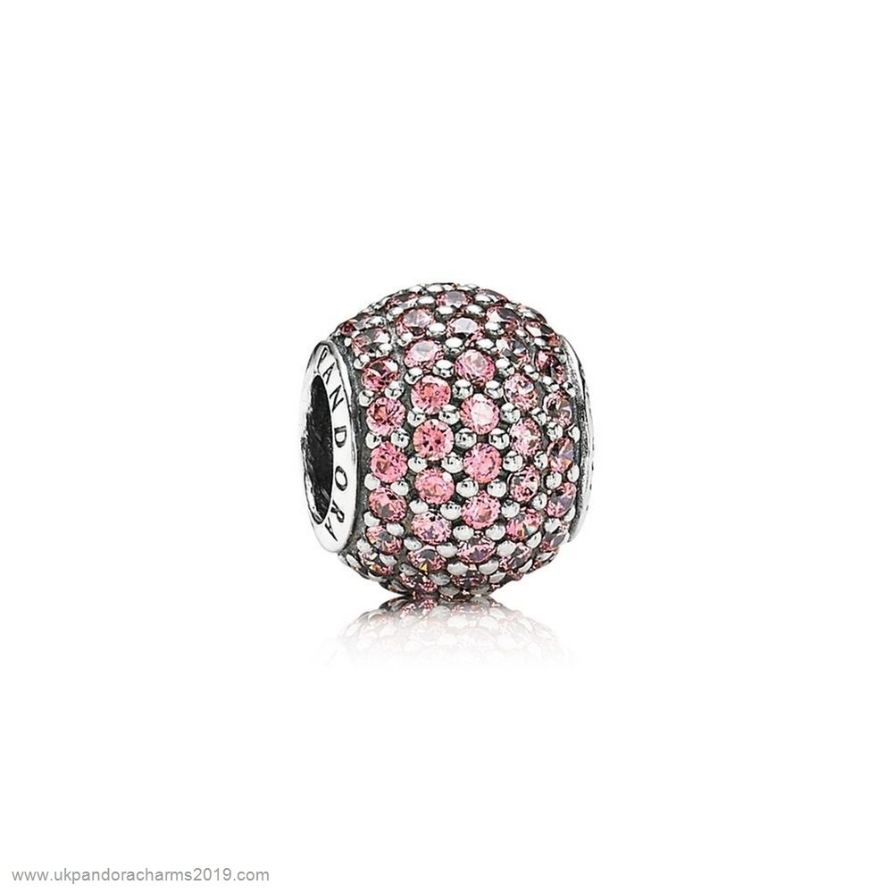 Pandora Shop Sale Pandora Sparkling Paves Charms Pave Lights Charm Fancy Pink Cz